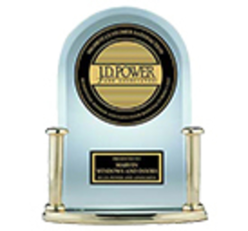 Cesaroni Design had a product win a J.D. Power and Associates Award