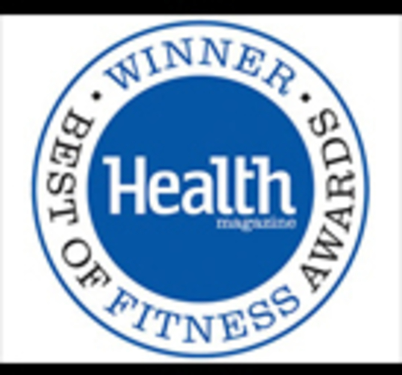 Cesaroni Design won a Health Magazine Best of Fitness Award