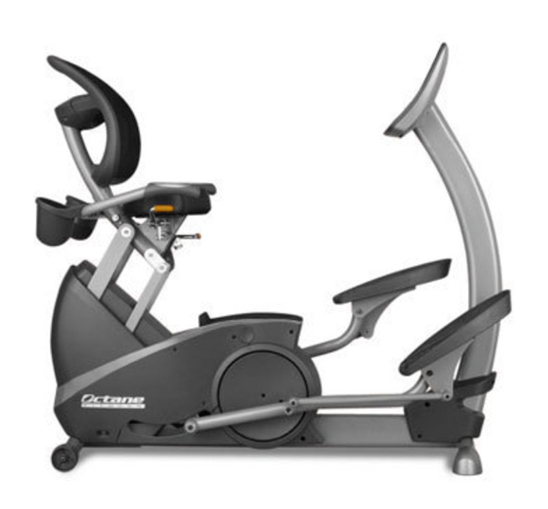 Side view of the xR3 elliptical machine