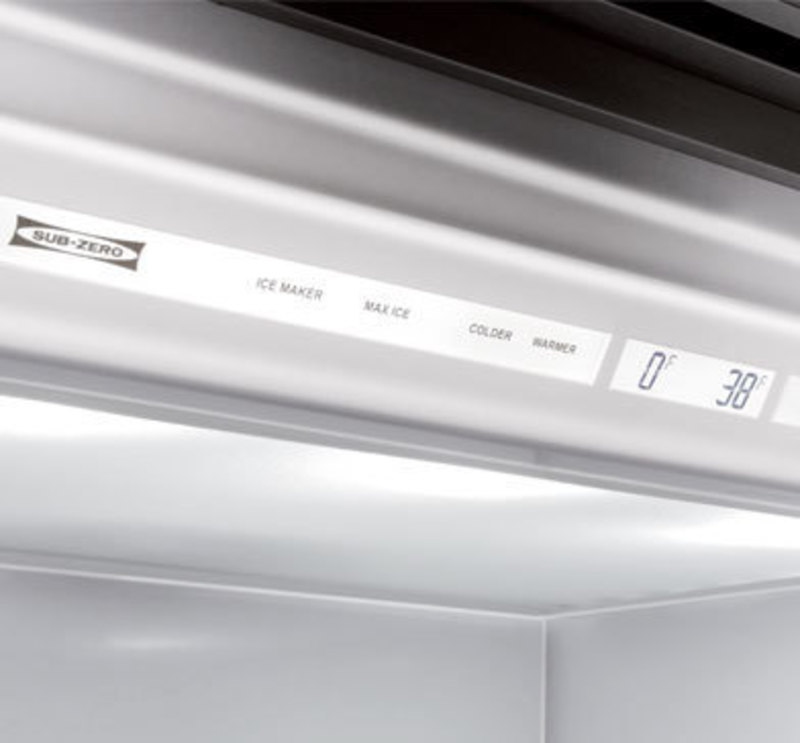Sub-Zero, Inc  Side-by-Side Built-In Refrigeration