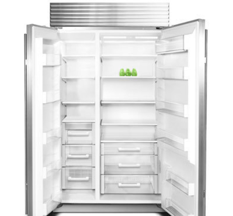 Sub-Zero, Inc.: Side-by-Side Built-In Refrigeration