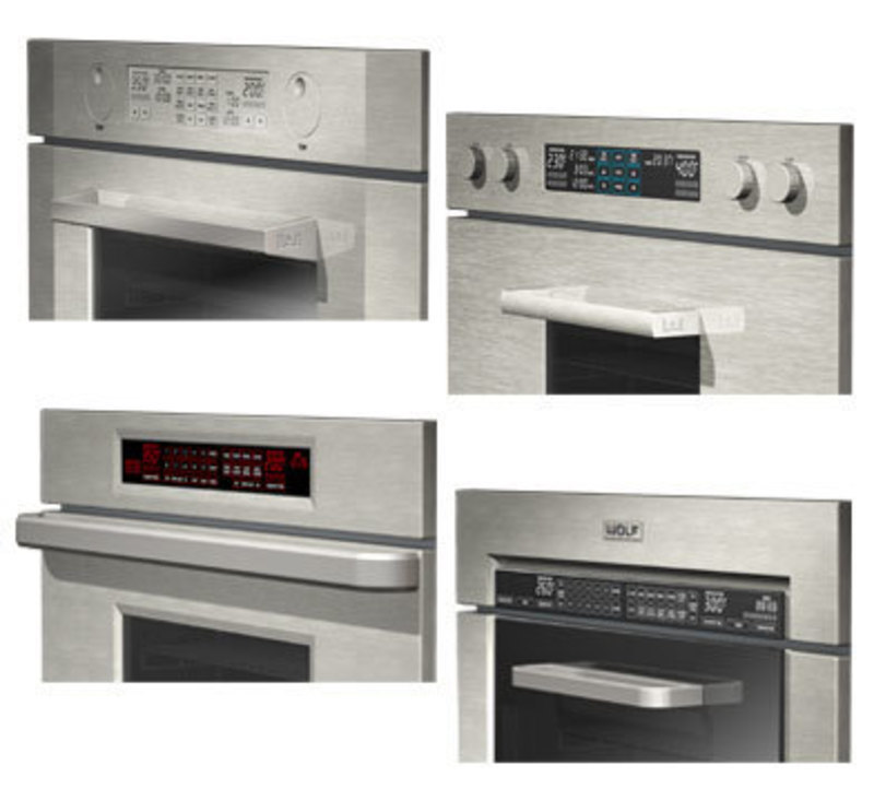 Wolf wall oven framed 1l