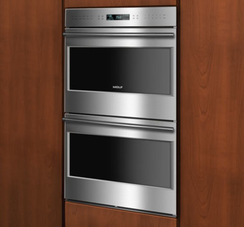 Wolf wall oven framed 3l