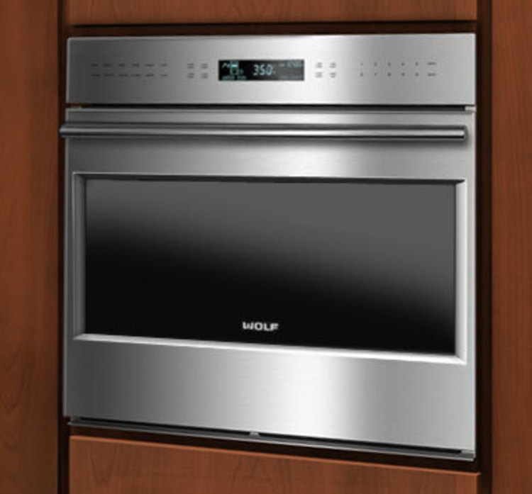 Product full size wolf wall oven framed 4l