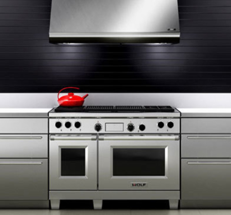 Front view rendering of the 48 inch dual fuel range