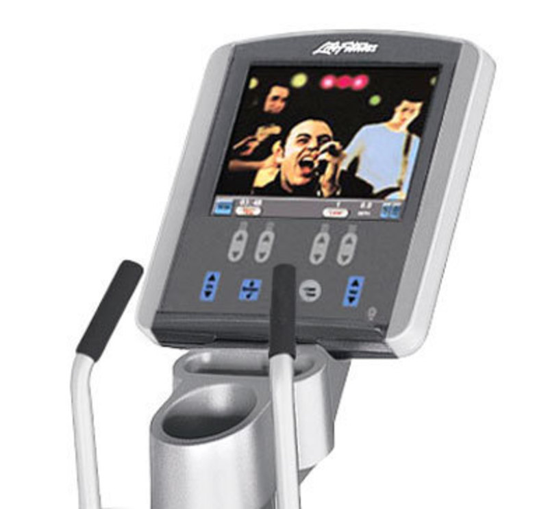 Life Fitness: 95Xe Cross-Trainer Console with LCD Display