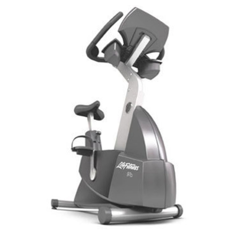 Life fitness 95ci lifecycle upright bike 8l
