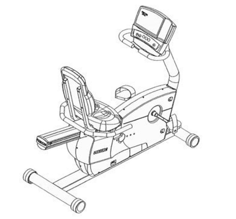 Precor USA: C846 Upright and Stationary Recumbent Cycle