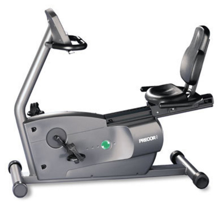 Product full size precor usa c846 recumbent cycle 8l