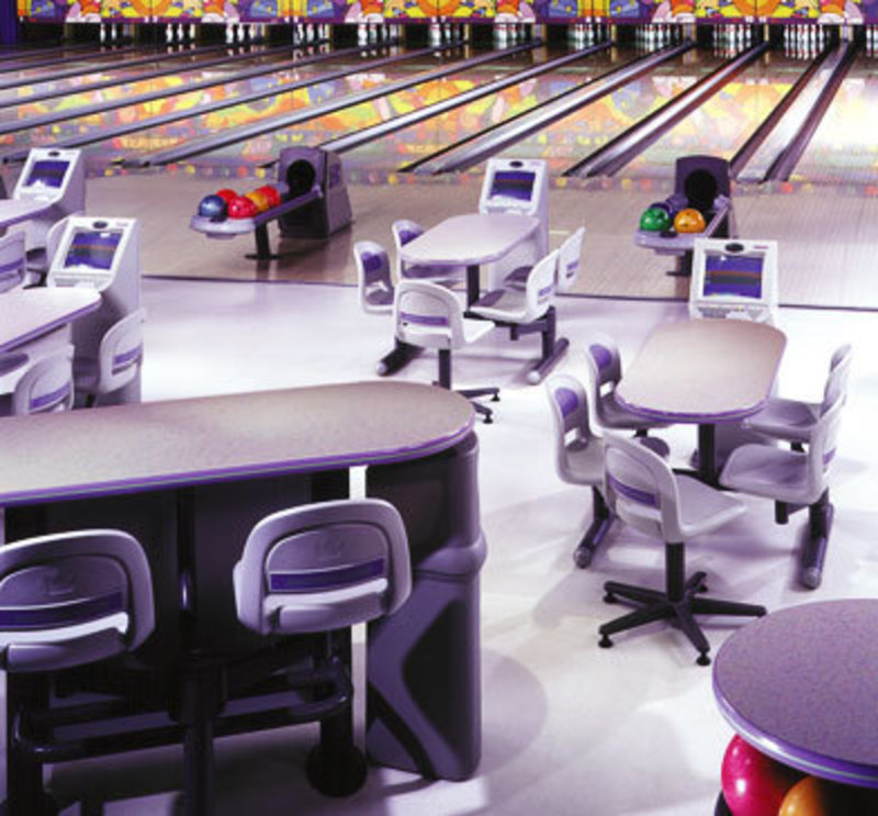 Brunswick Bowling : The Frameworx Line, Bowling Center Design