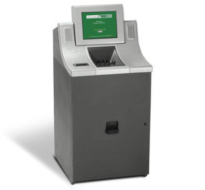 Cummins-Allison Corporation : The Money Machine™ Self-Service Coin Center
