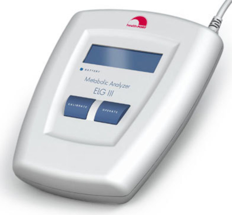 HealthPORT: ELG lll Metabolic Analyzer