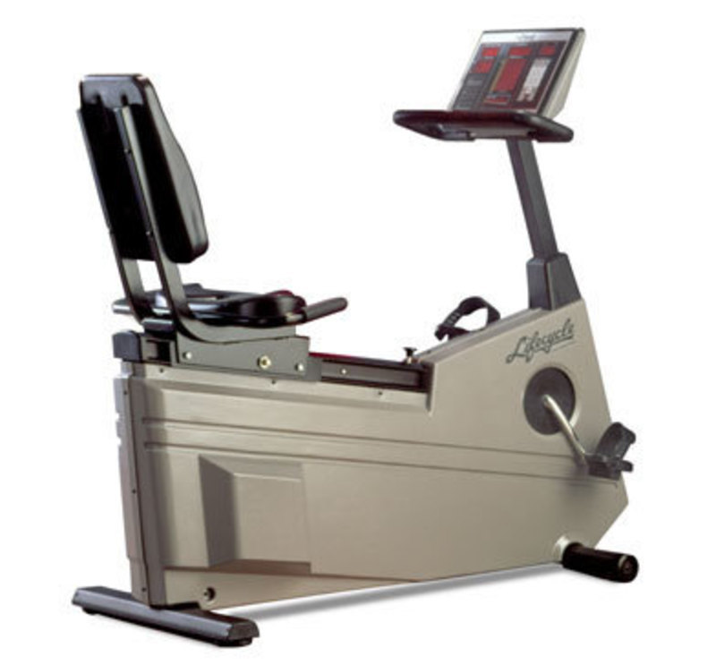 Life fitness recumbent lifecycle 8l