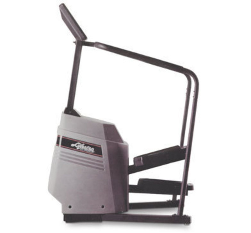 Side view of the final production version of the lifestep stairclimber