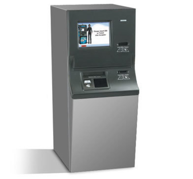 Cummins-Allison Corporation : Casino Transaction Kiosk