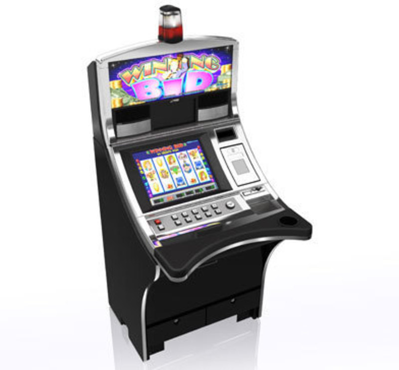 Wms gaming bluebird slant top slot machine 4l