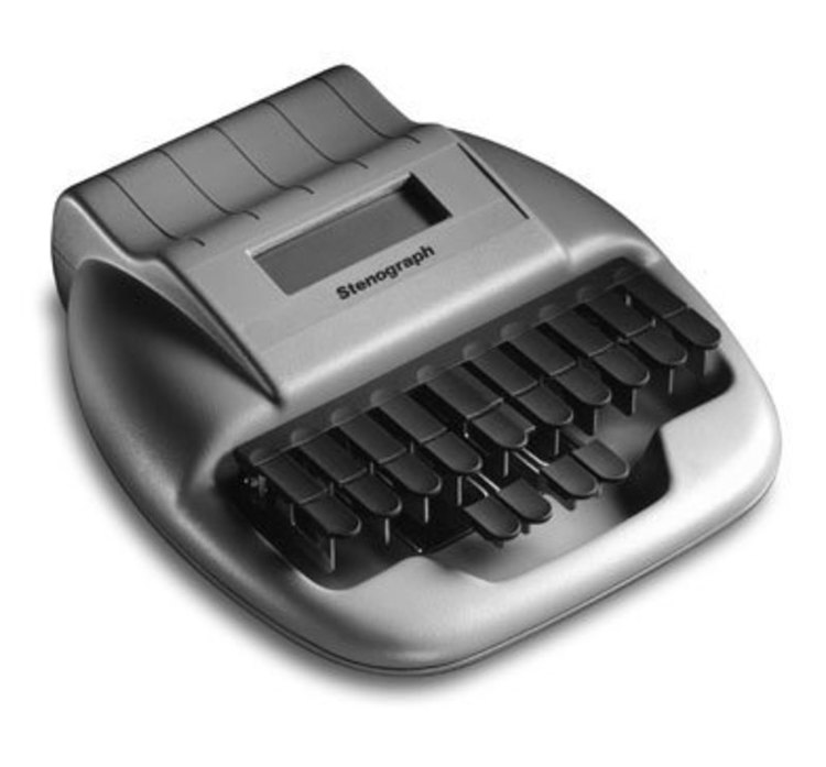 Product full size stenograph corporation court reporter 2 10l