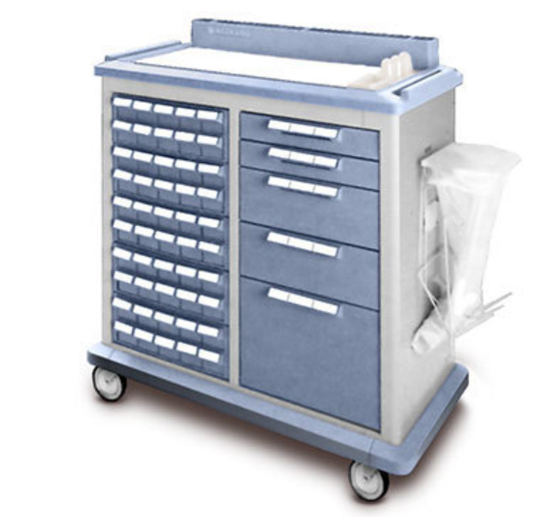 Waterloo Industries  : Large Medical Cart