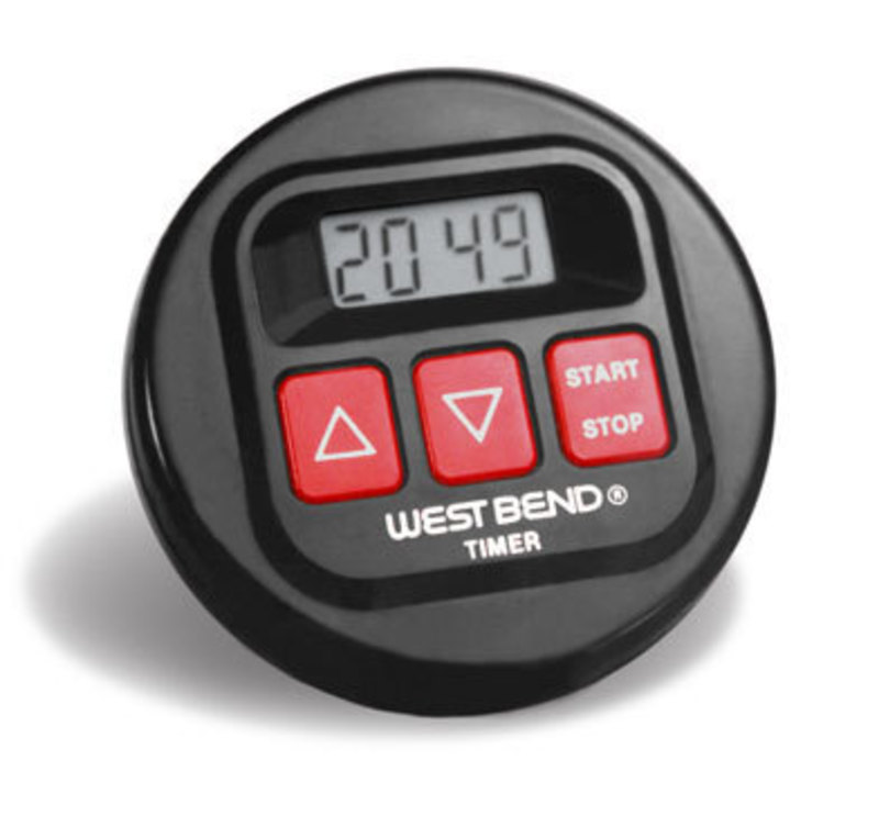 West Bend : Hour Recall™ Timer