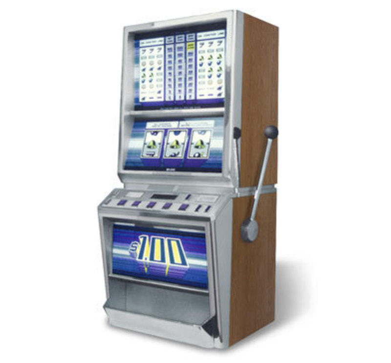 Bally upright slot machine 7l