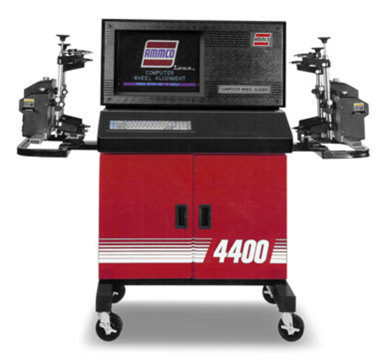 Hennessy Industries, Inc. : AMMCO Computer Wheel Aligner