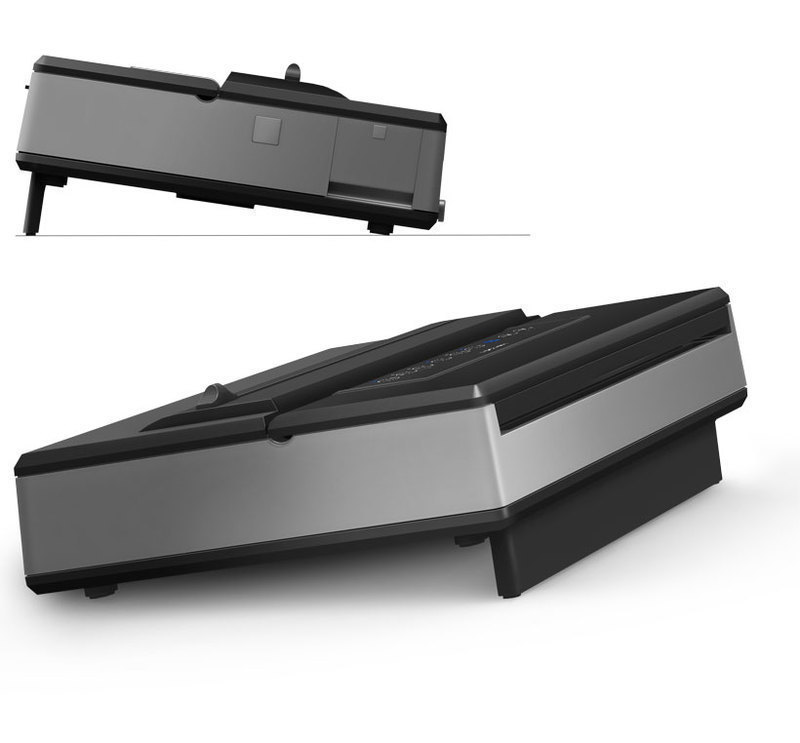 200 Series Vacuum Sealing System with its rear leg extended angling the system forward