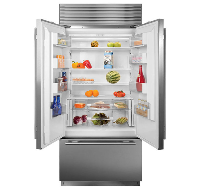 "Sub-Zero, Inc. : 36"" Built-In French Door Refrigeration"