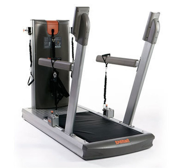 Front three quarters view Sproing: Soft-Platform Training Machine