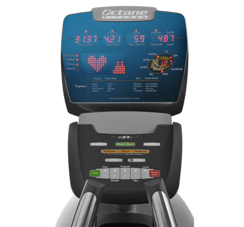Octane Fitness: Standing Elliptical Q37 Series Console