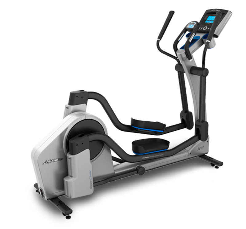 Rear three quarters view of the X7 Elliptical