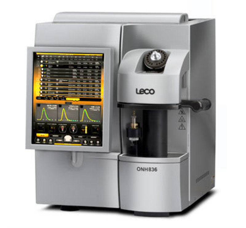 LECO Corporation: ONH836 Oxygen/ Nitrogen/ Hydrogen Elemental Analyzer